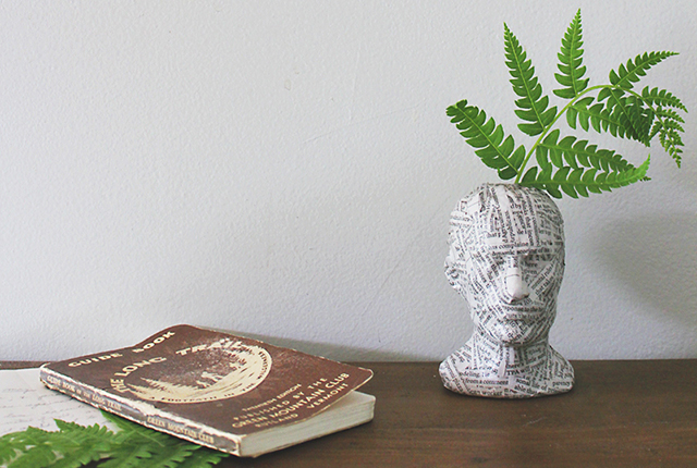 A quick & easy bud vase project!