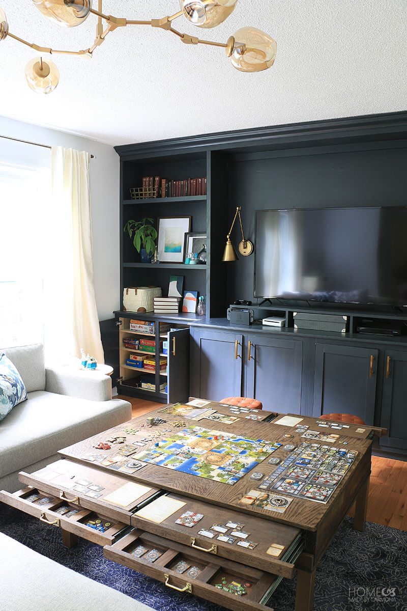 Family Room Turned Game Room Home Made By Carmona