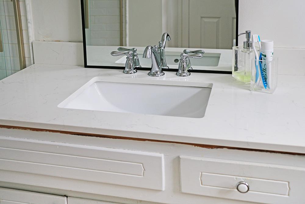 Quartz Bathroom Vanity Top Home Made By Carmona